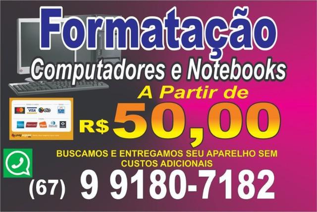 Assistência Técnica Completa em PC e Notebook