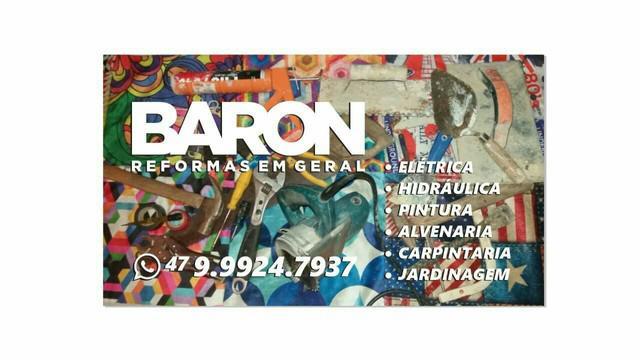 Baron reformas em geral de casas e apartamentos e lojas e e