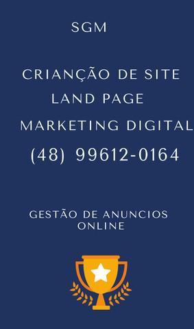 Criação de site land page gestão de anúncios online