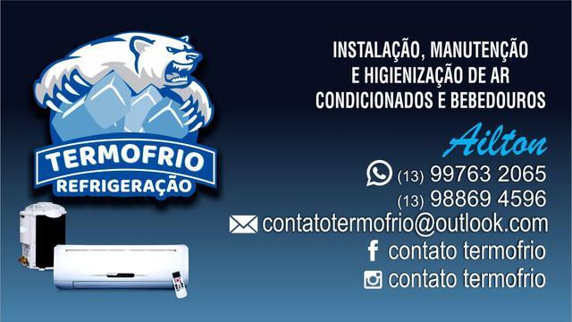 Instalação de ar condicionado e manutenção.