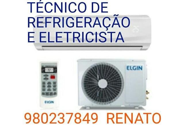Serviços de refrigeração e elétrica. (aceito cartão)