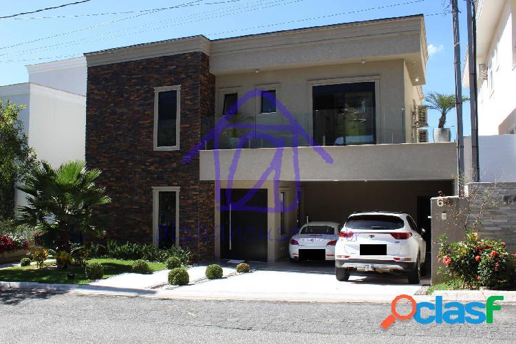 Linda casa mobiliada e decorada para locação - valville 2