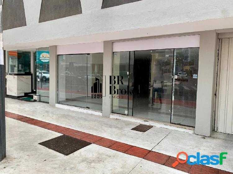 Locação anual sala comercial na av. brasil barra norte
