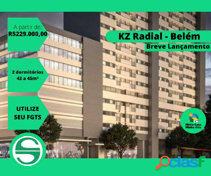 Apartamento kz radial - belém