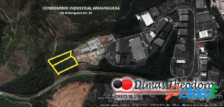 Vende área industrial - cajamar - são paulo.