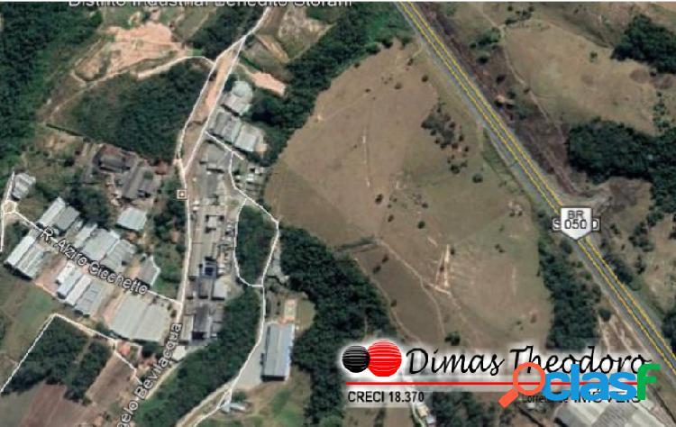 Área industrial / comercial vinhedo - frente para via anhanguera sp