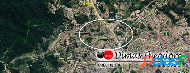 Vende / aluga área 18.000 m² - frente rod. fernão dias - sp
