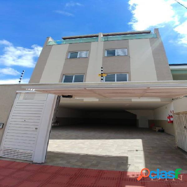 Apartamento 2 dormitórios novo 75 a 80m² - sem condomínio - santo andré