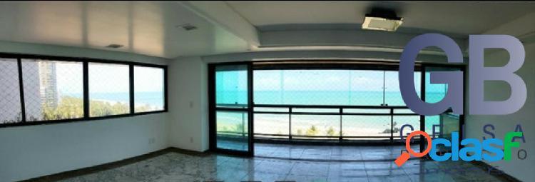 Edf vina del mar beira mar boa viagem 210m² 4q 3s 3v 1 por andar