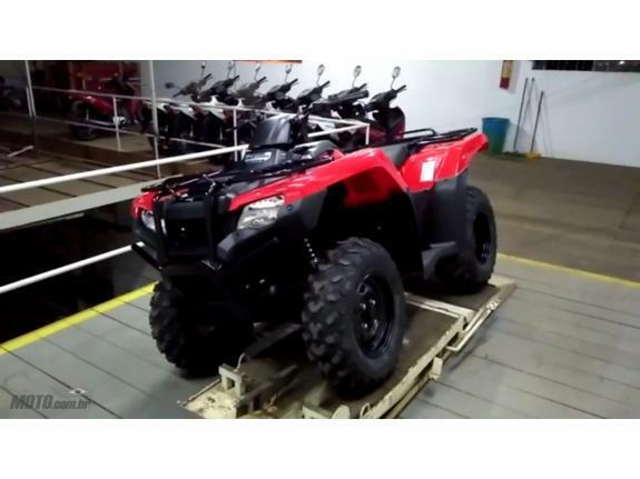 Honda - TRX 420 Four Trax
