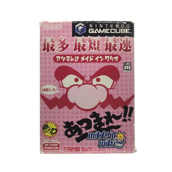 Jogo Atsumare!! Made in Wario - GameCube (Japonês)