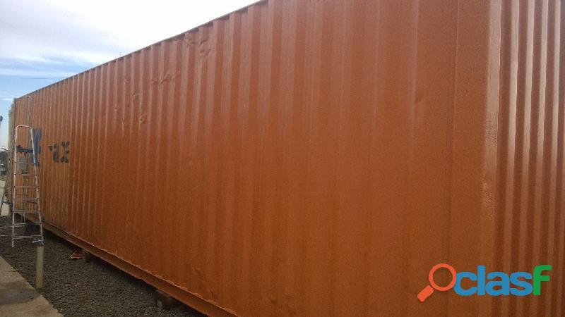 Restauração Pintura de Containers Limpeza de Fachada com trabalho em altura 51 929314646 Synttsserv