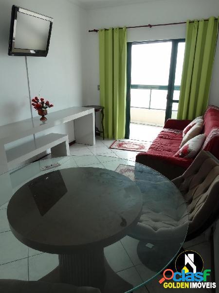 Locação temporada - apartamento 2 dormitórios frente mar na meia praia