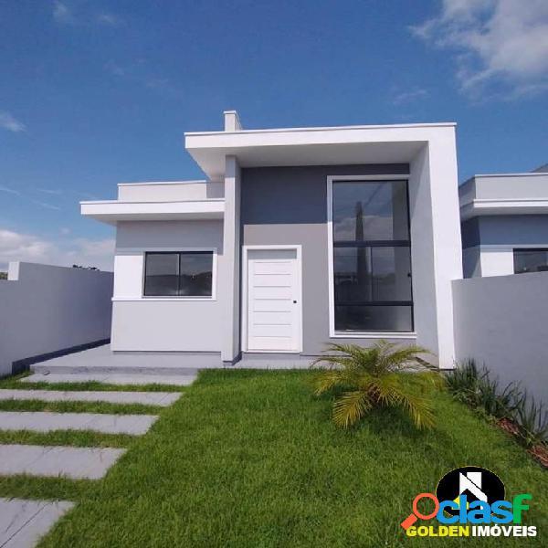 Casa de dois dormitórios bairro joaia tijucas sc