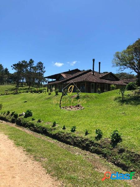 Terreno em condomínio rural localizada município de rancho queimado - sc
