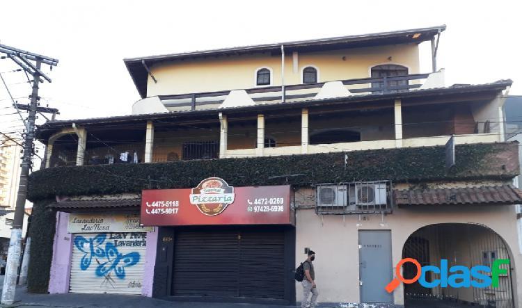 Casa - Aluguel - Santo André - SP - Parque Novo Oratório)