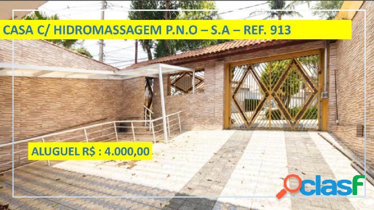 Casa - Aluguel - Santo André - SP - Parque Oratório)