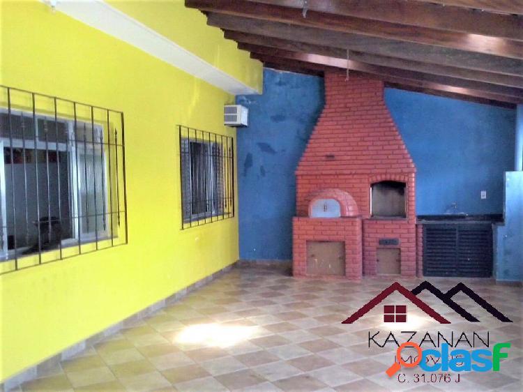 Casa (térrea)- 2 dormitórios 3 vagas de garagem - praia grande