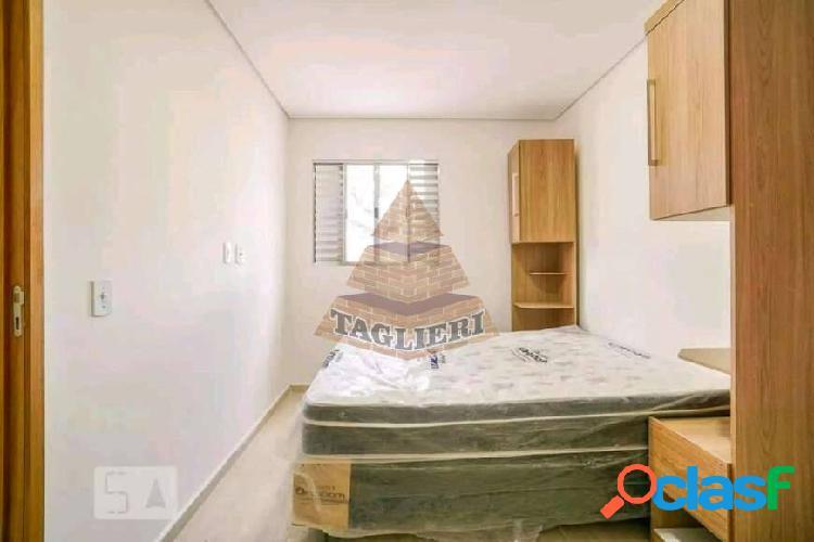 Apto novo 40m² belem com armário e cama