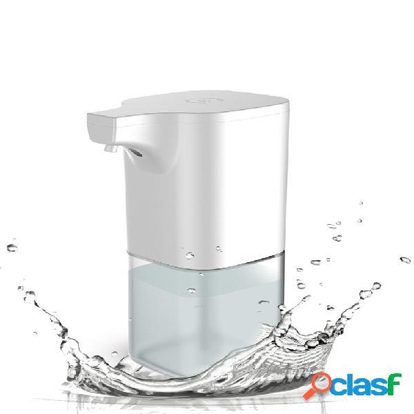 Xiaowei x6 350ml dispensador automático sabão ir sensor dispensador de espuma líquido lavador de mãos à prova d'água soa