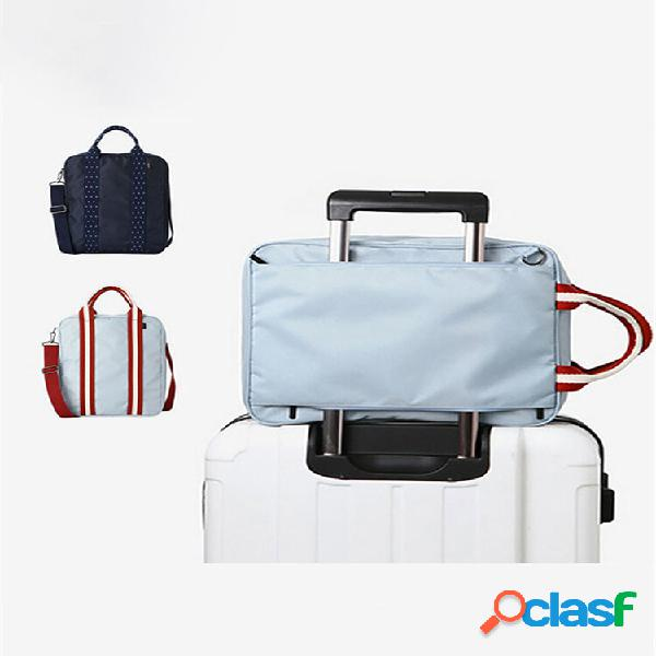 Bolsa de bagagem à prova d'água honana hn-tb10 para viagem bolsa bolsa multifuncional grande unissex para bagagem