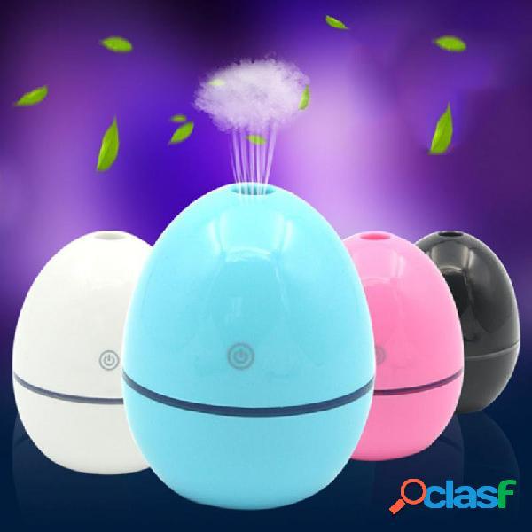 Forma de ovo umidificador usb car mini umidificador air mudo umidificador hidratante pele purificante ar