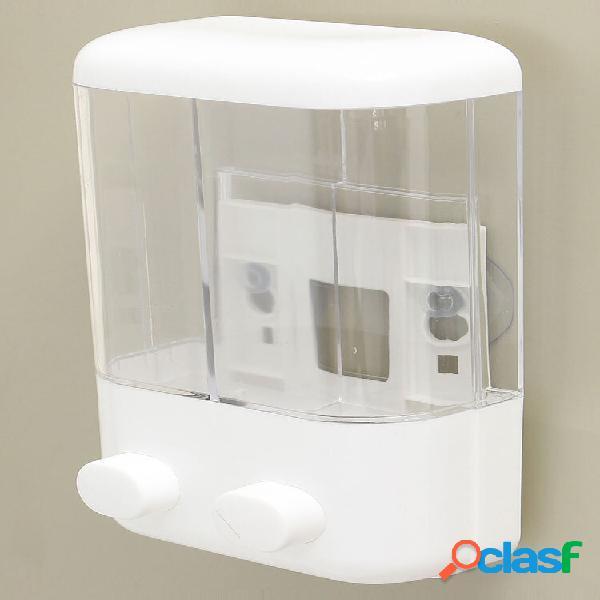 1000ml banheiro manual montado na parede sabão dispensador líquido espuma loção shampoo frasco gel para banho
