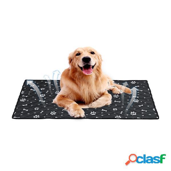 Respirável cachorro tapete de carro animal de estimação cachorro almofada de carro para gelo cachorro suprimentos