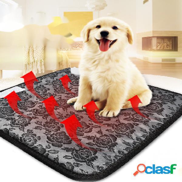 Almofada de aquecimento à prova d'água para animais de estimação electricpet elétrica atualizada cachorro almofada de aq