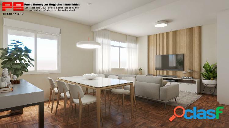 Apartamento 90 m² - consolação!