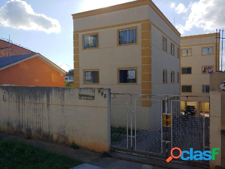 Apartamento três quartos a venda no jardim graziela/almirante tamandaré/pr