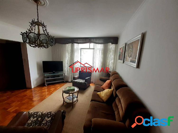 Mobiliado 3 dormitorios suite closet praia gonzaga, santos/sp 1 vaga