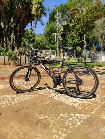 Bicicleta gallo 21 marchas preto fosco.