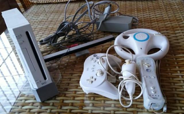 Nintendo wii branco. usado