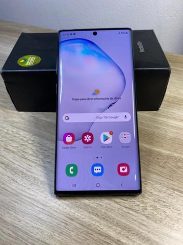 Samsung Note 10 + plus 256Gb preto - Seminovo
