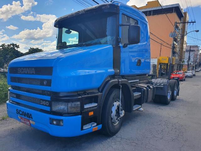 Scania 124 g 6x2 / 360 ano 2000 único dono (só vendo