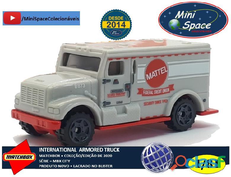 Matchbox International Armored Truck 1/81