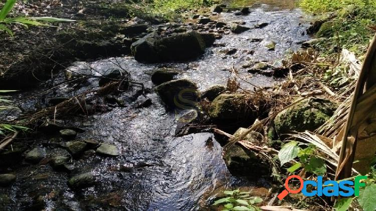 Chácara em guaramirim agua abundante
