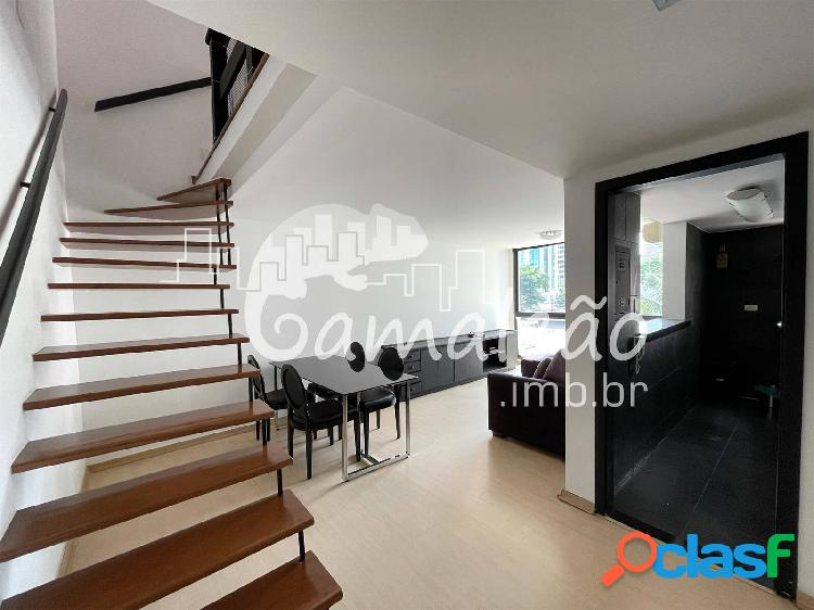 Itaim bibi - loft 1 suíte - 1 vaga - 49 m²