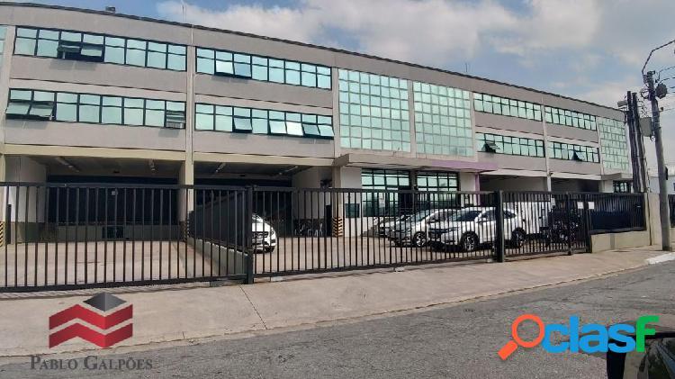 Galpão de 1.500 m² locação em tamboré alphaville - sp.