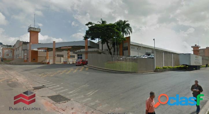 Galpão cond. de 12.789 m² locação santana de parnaíba,sp