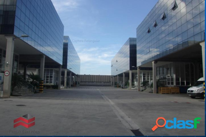 Condomínio galpões 3.437 m² locação alphaville barueri-sp