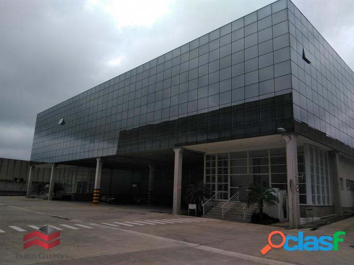 Condomínio galpões 6.875 m² locação alphaville barueri-sp