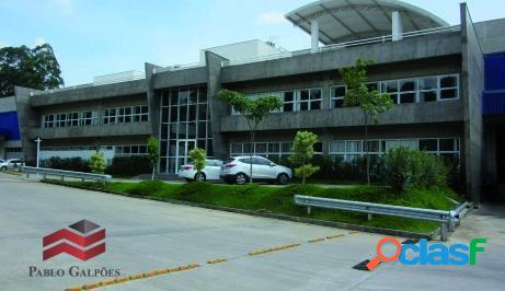 Galpão locação 5.808 m² em condomínio fechado cajamar sp.
