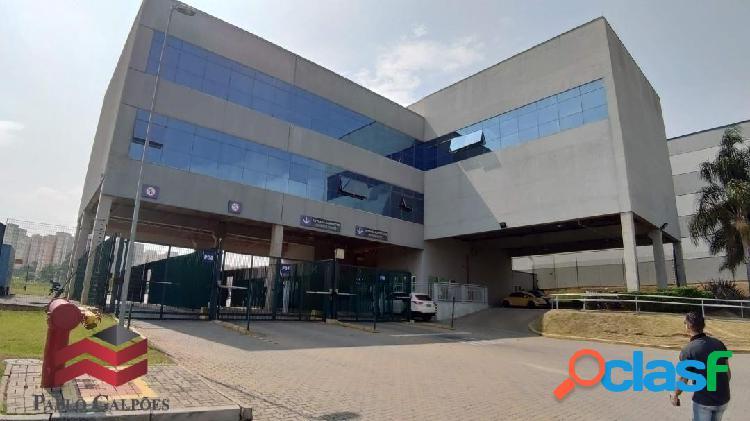 Galpão 2.369 m² em condomínio fechado locação carapicuíba-sp.