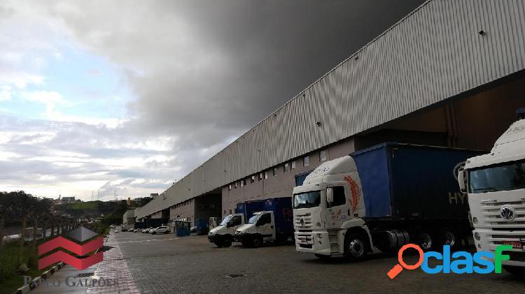 Galpão 4.676 m² em condomínio fechado locação alphaville-sp.