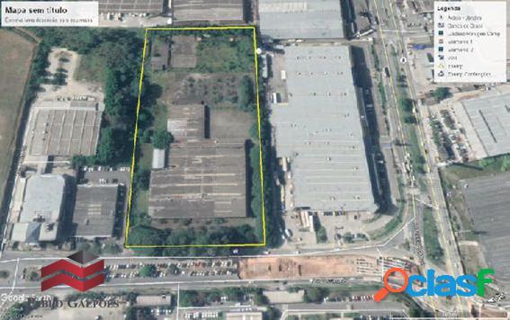 Galpão de 11.800 m² para locação em alphaville barueri- sp.