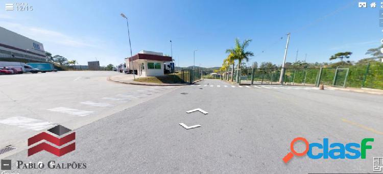 Galpão 1.300 m² em condomínio fechado locação vargem grande paulista -sp