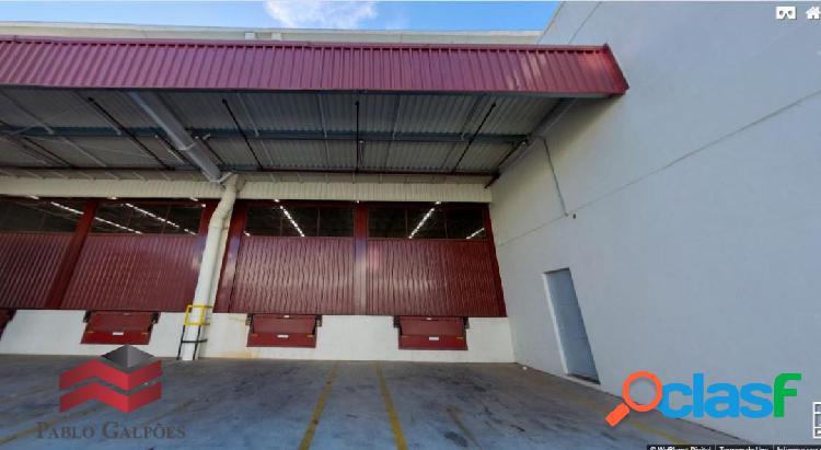 Galpão 1.306 m² condomínio fechado locação vargem grande paulista -sp