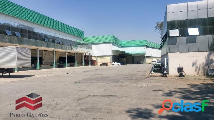 Galpão locação 2.578 m², ambuitá, itapevi,sp